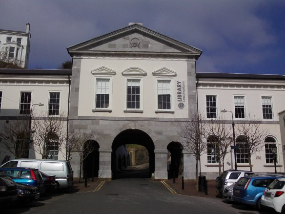 old Cobh town hall